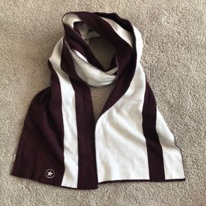 Other - Maroon and White Scarf